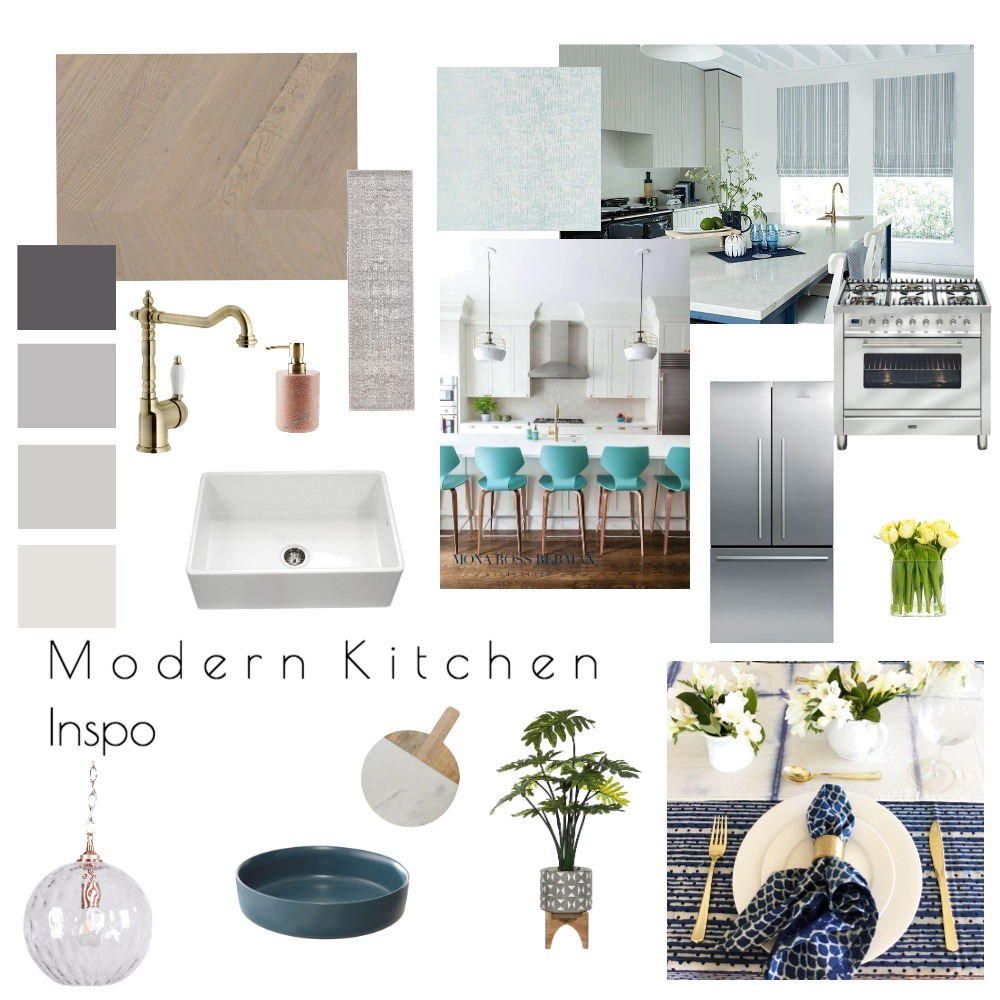 Mod 9- Kitchen Mood Board by GillianD on Style Sourcebook