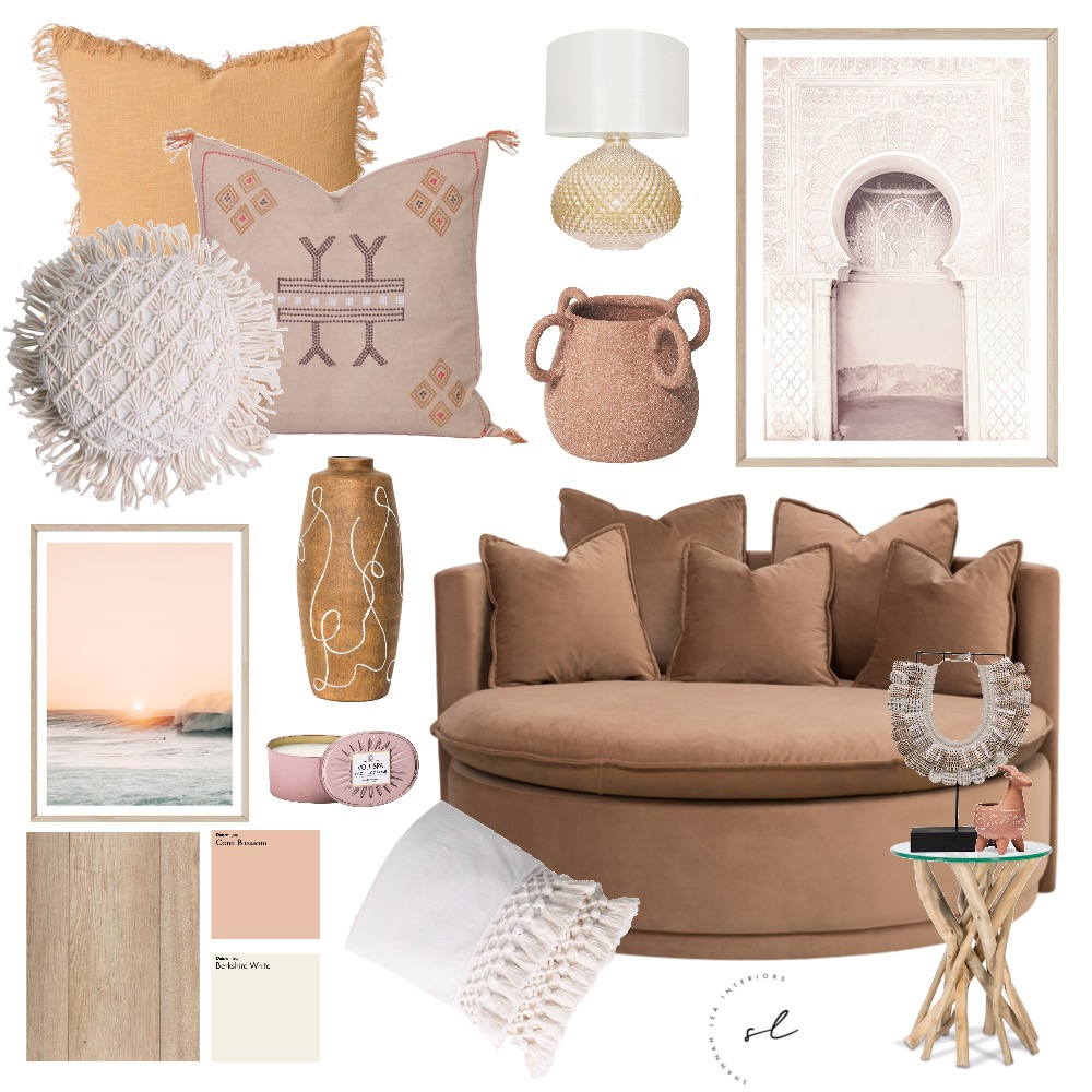Gypsy - Rustic Boho Living Interior Design Mood Board by Shannah Lea Interiors on Style Sourcebook