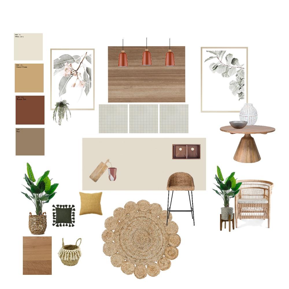 kitchen wooden element Interior Design Mood Board by gabrielle1969 on Style Sourcebook