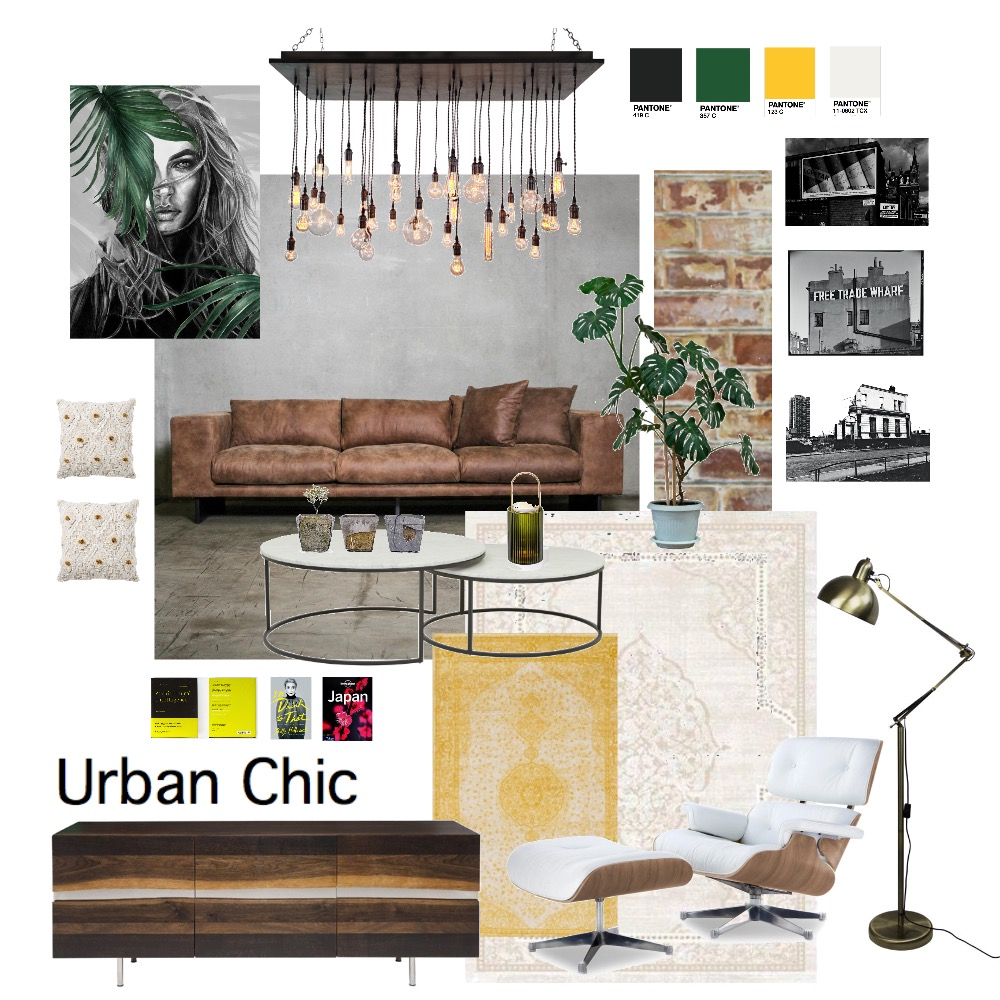 Urban Chic M3 (1) Interior Design Mood Board by mcbufton on Style Sourcebook