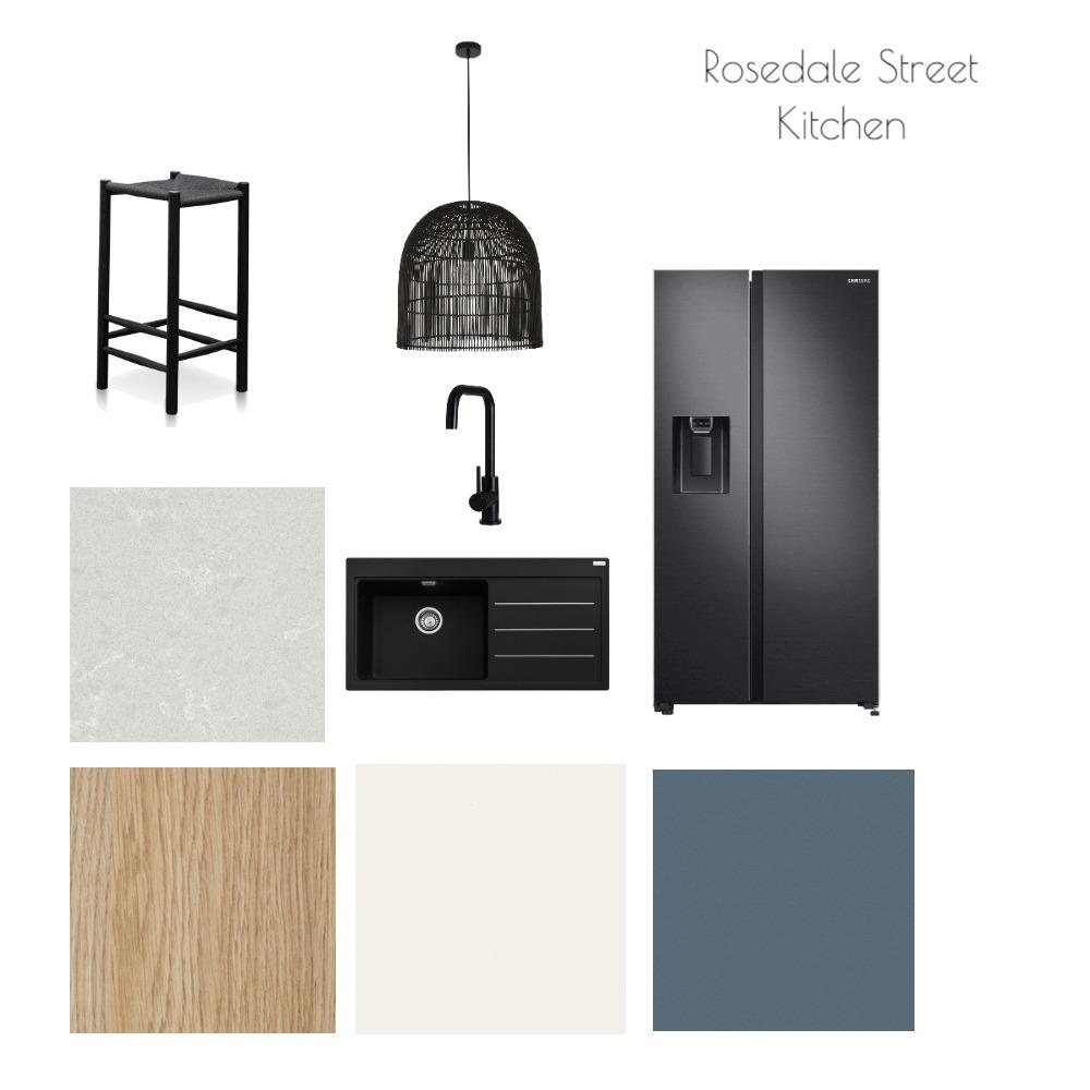 Rosedale St Kitchen - Contemporary Coastal Interior Design Mood Board by christine_boulazeris on Style Sourcebook