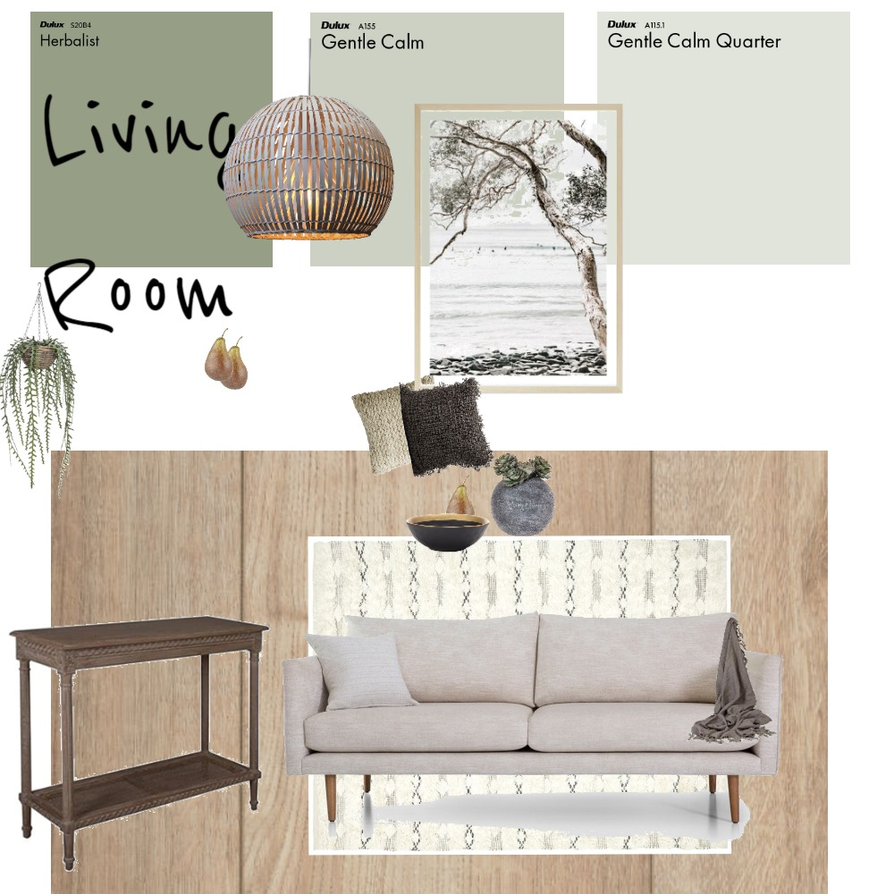 Living Room Interior Design Mood Board by Tronel on Style Sourcebook