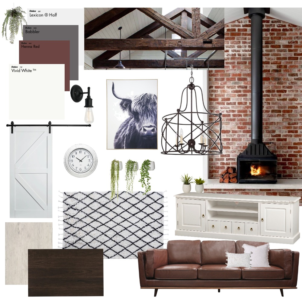 Farmhouse Interior Design Mood Board by ReneeMarriott on Style Sourcebook