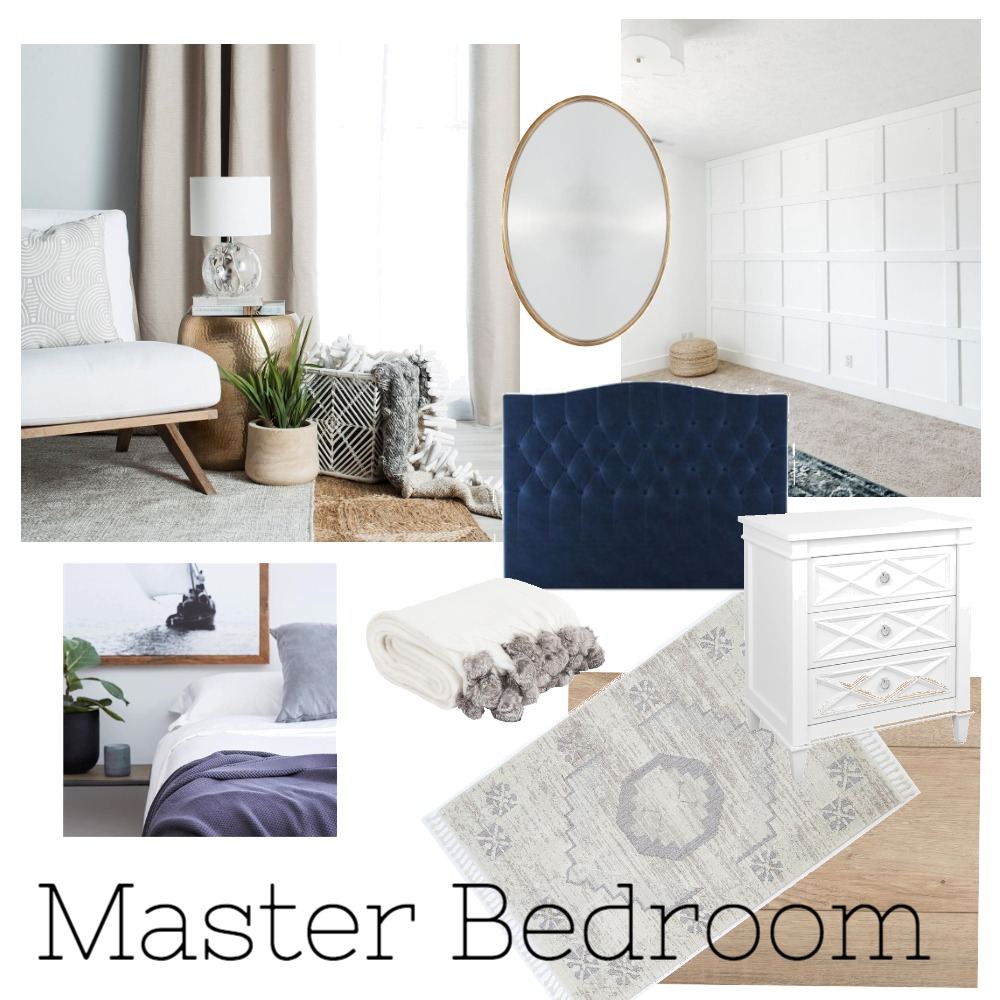 Master Bedroom Interior Design Mood Board by BrookeGauthier on Style Sourcebook