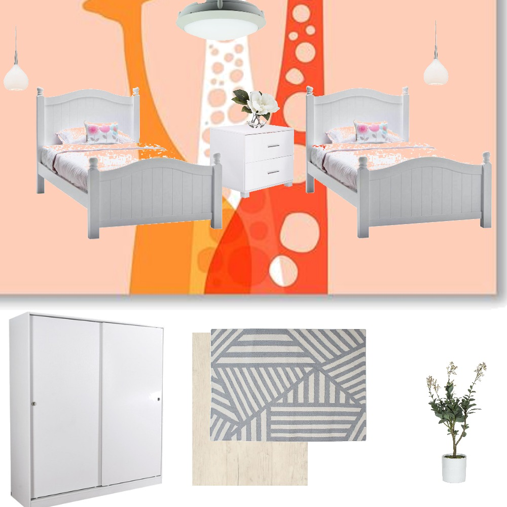 kidsbedroom-apartment(1) Interior Design Mood Board by blue on Style Sourcebook