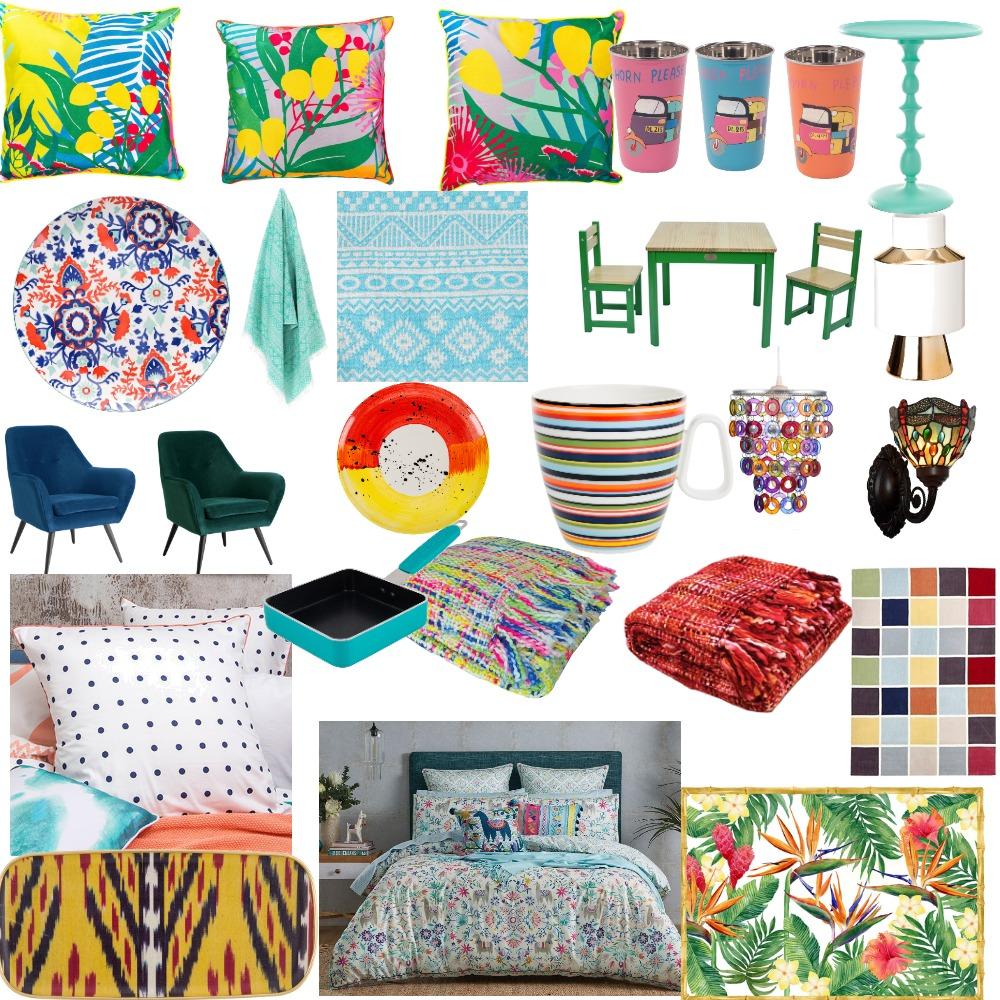 mood board memphis Interior Design Mood Board by ozi098 on Style Sourcebook