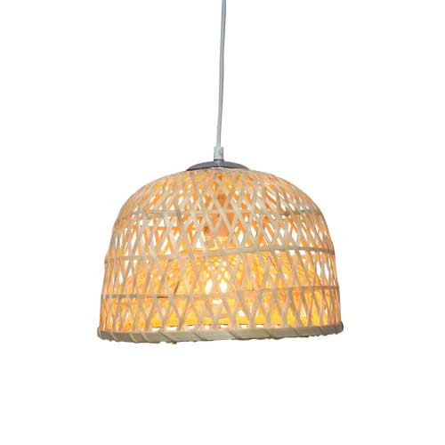 Bamboo Dome Pendant Light by Fat Shack Vintage, a Chandeliers for sale on Style Sourcebook