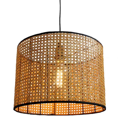 Moselle Rattan Pendant Light by Fat Shack Vintage, a Pendant Lighting for sale on Style Sourcebook