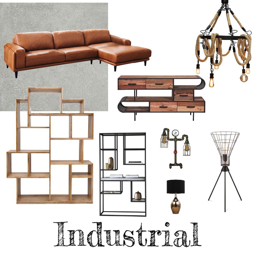 industrial Interior Design Mood Board by Black Bear Design on Style Sourcebook