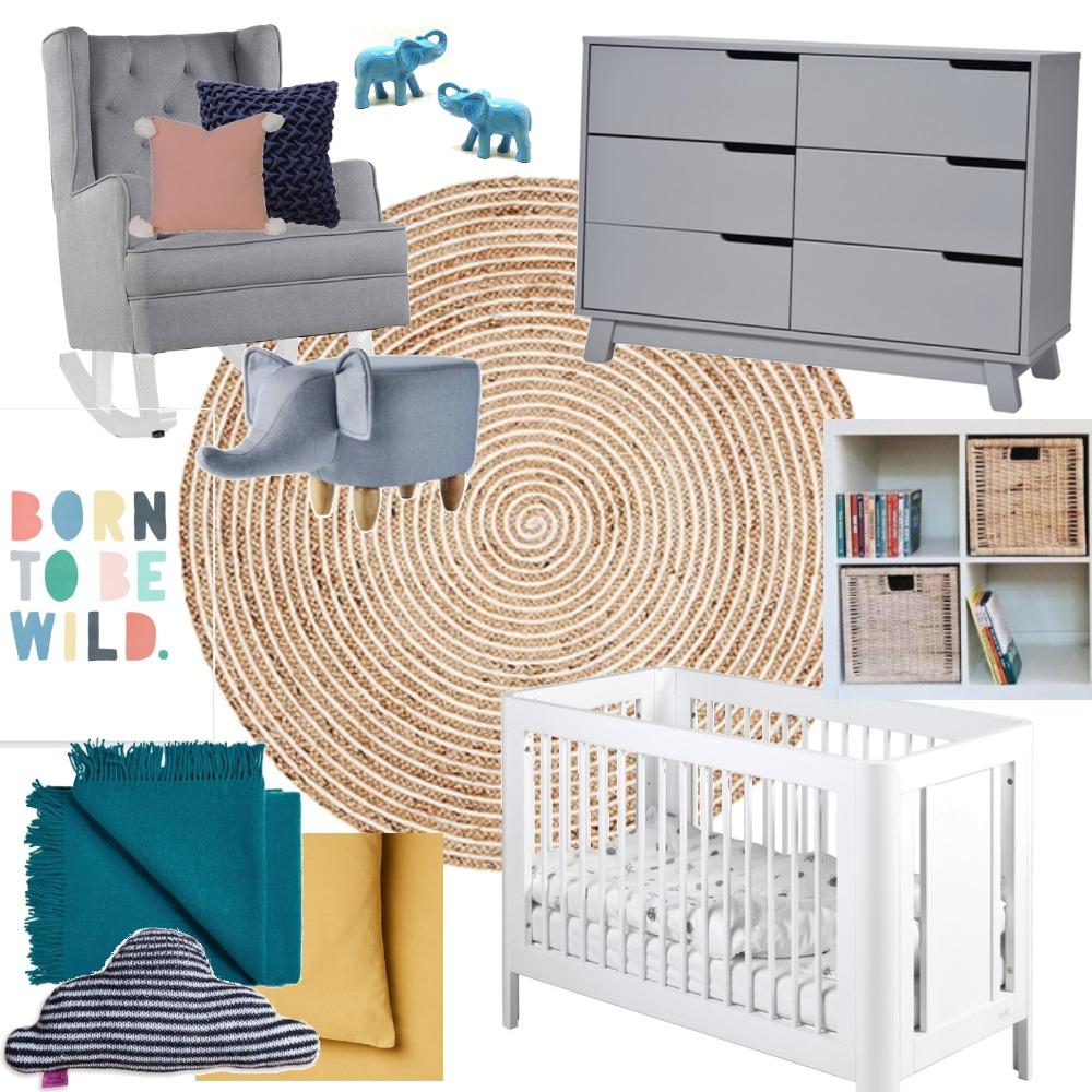 Kimmy's Nursery Interior Design Mood Board by rgauci on Style Sourcebook