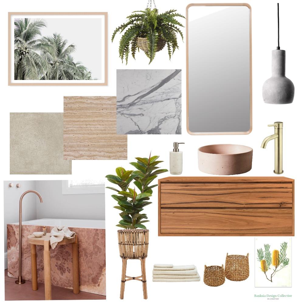 bathroom Interior Design Mood Board by Plants By Bela on Style Sourcebook