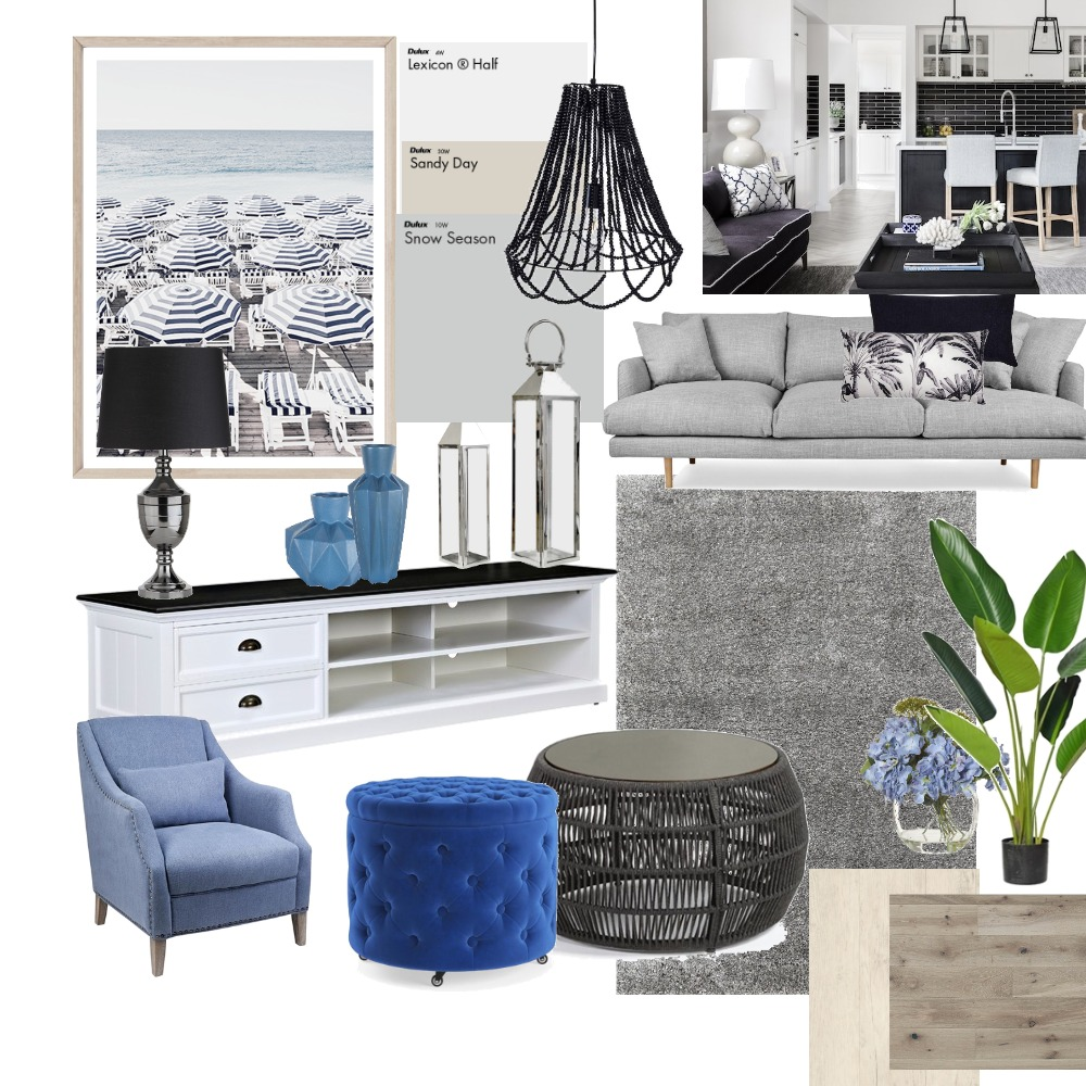 hamptons Interior Design Mood Board by deteriorGC on Style Sourcebook