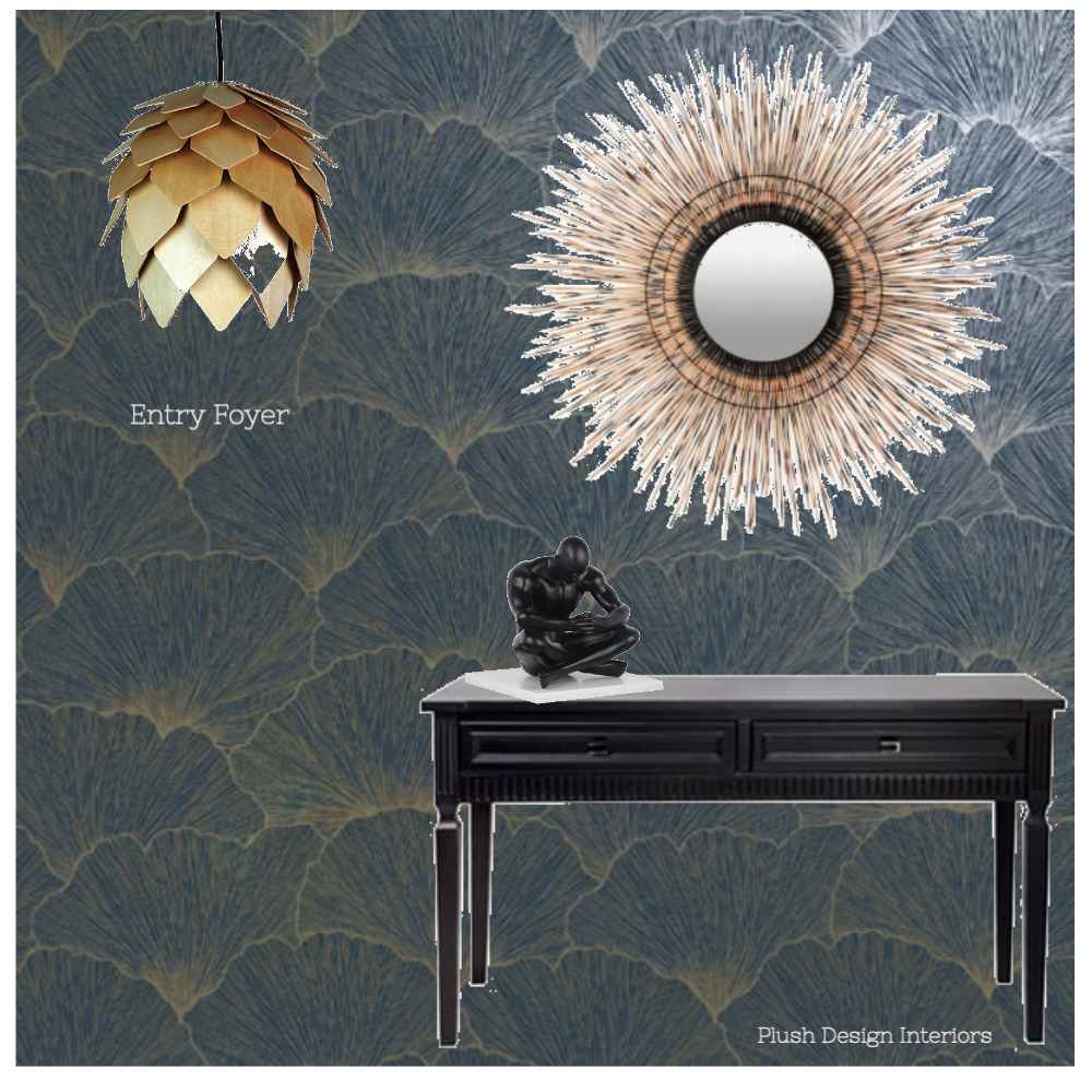Paula P Entry Foyer Interior Design Mood Board by Plush Design Interiors on Style Sourcebook
