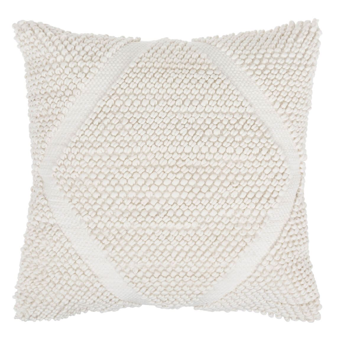 Belmore Cushion Size W 50cm x D 11cm x H 50cm in White Freedom by Freedom, a Cushions, Decorative Pillows for sale on Style Sourcebook