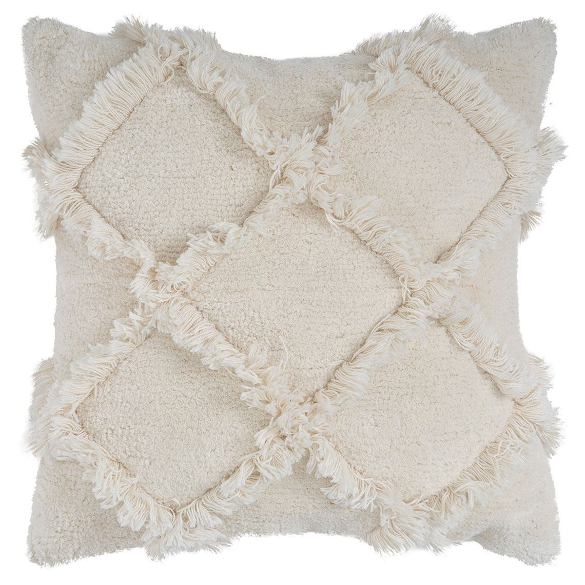 Daou Cushion Size W 50cm x D 50cm x H 15cm in Ivory 100% Cotton Freedom by Freedom, a Cushions, Decorative Pillows for sale on Style Sourcebook