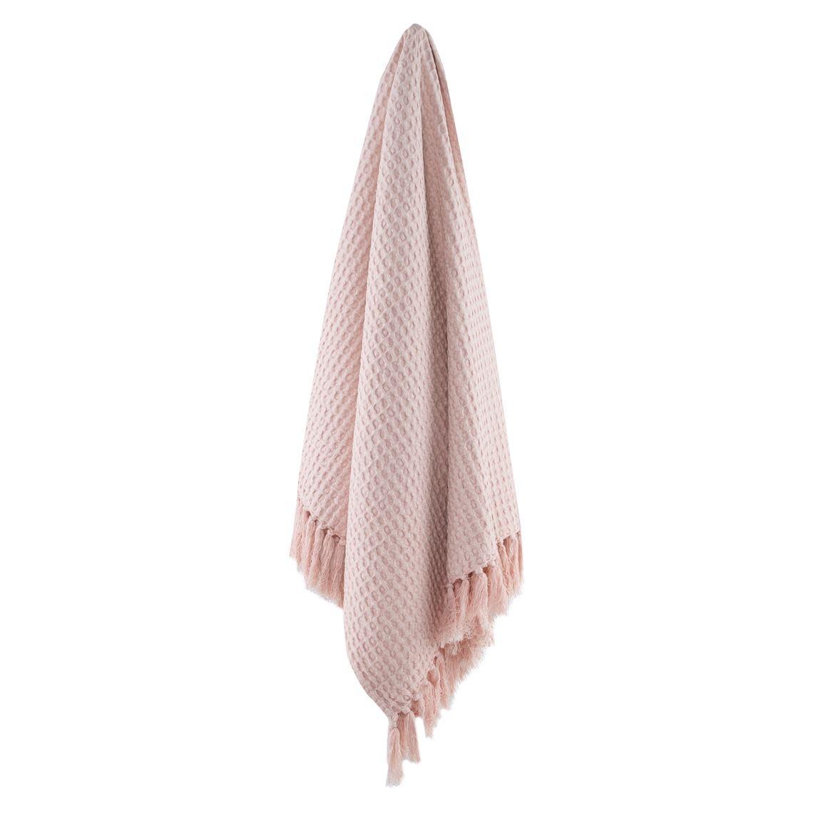 Greer Throw Size W 130cm x D 1cm x H 150cm in Pink Freedom