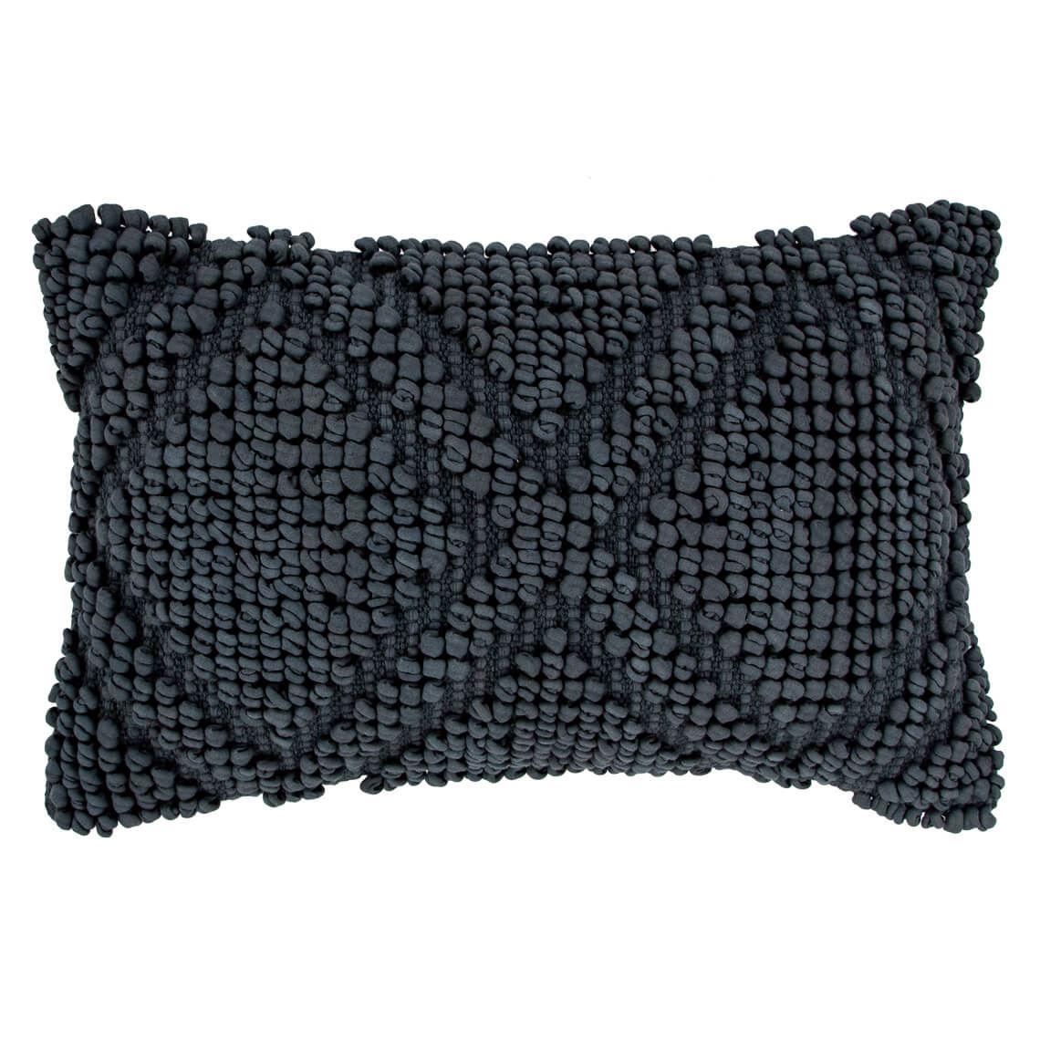 Valentín Cushion Size W 40cm x D 60cm x H 8cm in Grey Freedom