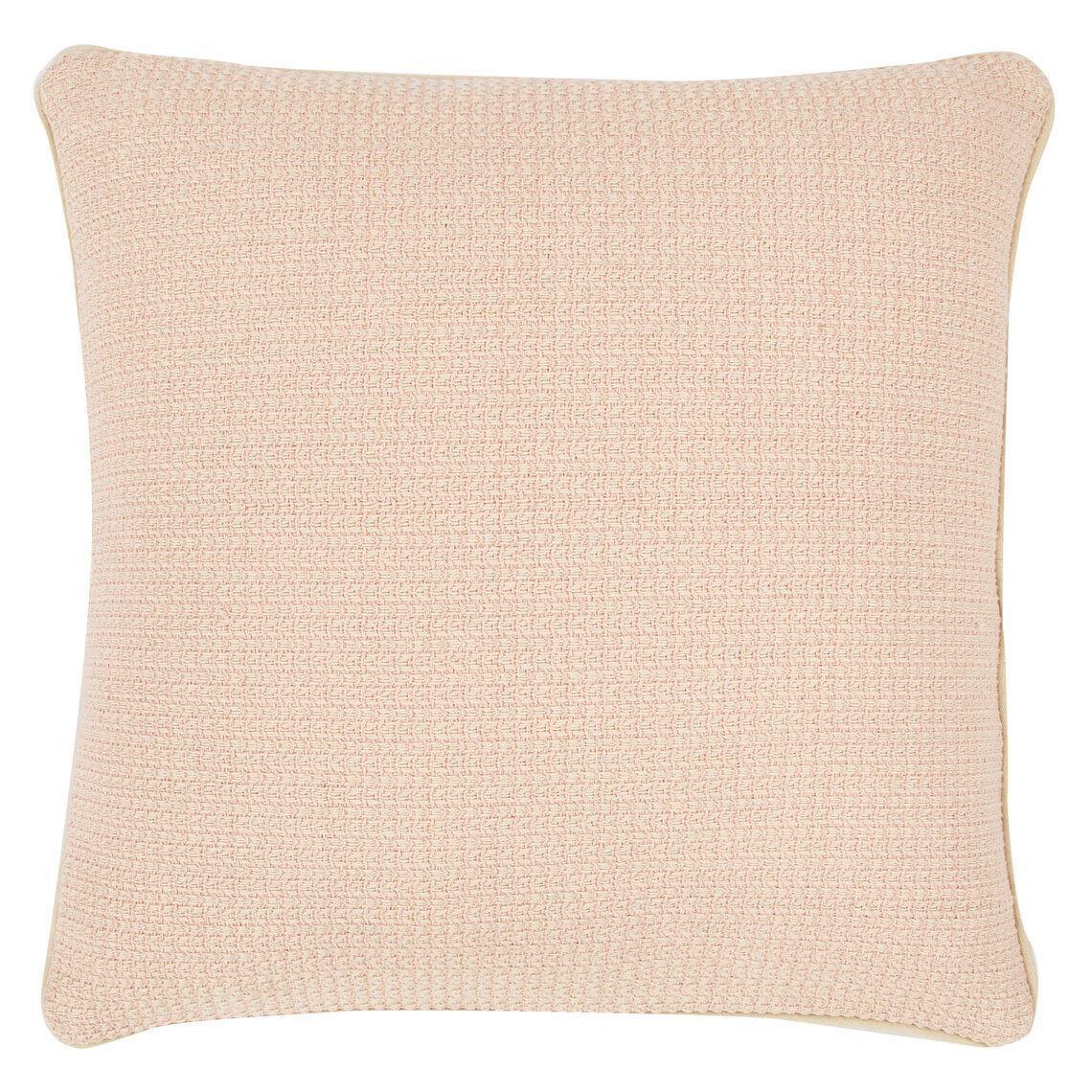 Breah Cushion Size W 50cm x D 50cm x H 8cm in Pink Freedom