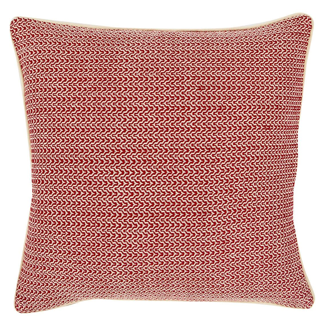 Breah Cushion Size W 50cm x D 50cm x H 8cm in Red Freedom