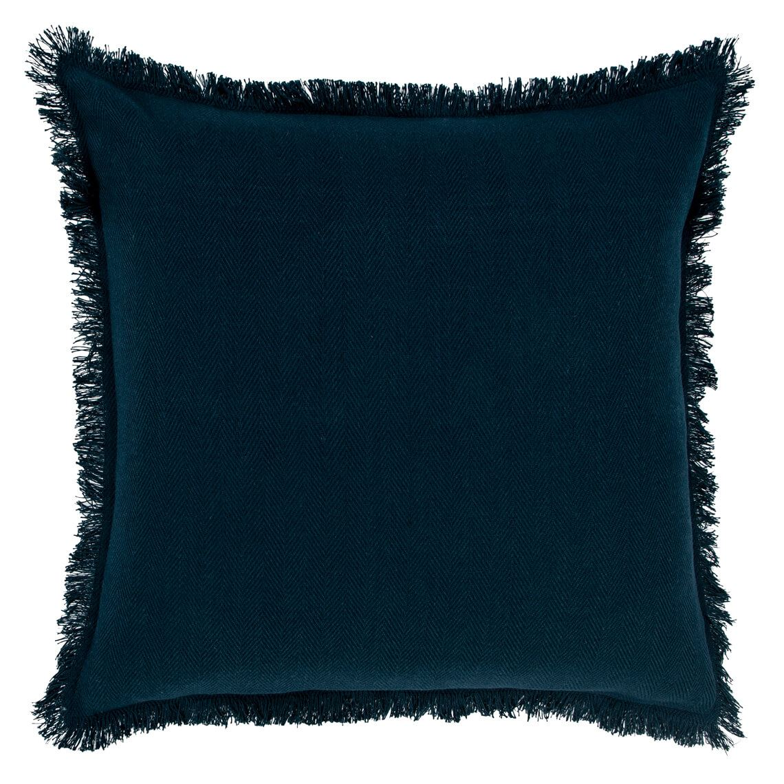 Beatrice Cushion, Navy Size W 50cm x D 50cm x H 8cm in Navy Blue Freedom