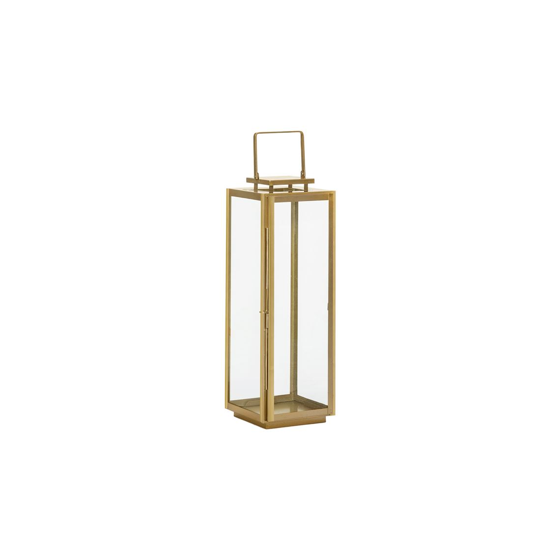 Balzan Lantern, Colour Size W 13cm x D 13cm x H 29cm in Gold Freedom