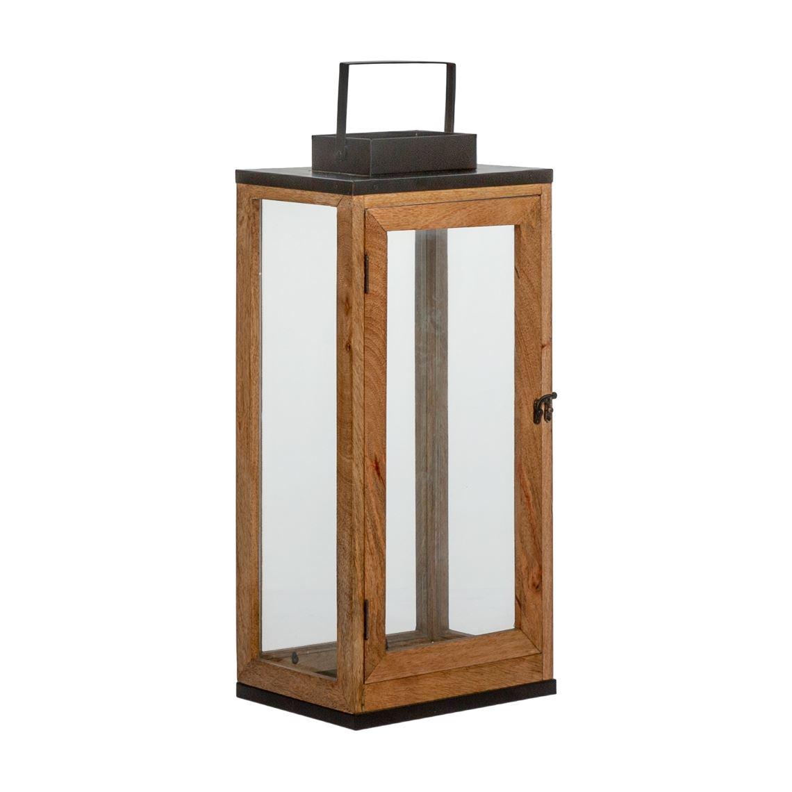 Anafi Lantern Size W 24cm x D 18cm x H 51cm in Black Freedom