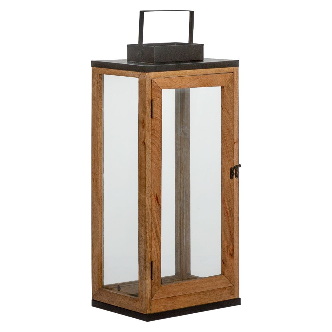 Anafi Lantern Size W 26cm x D 20cm x H 57cm in Black Freedom
