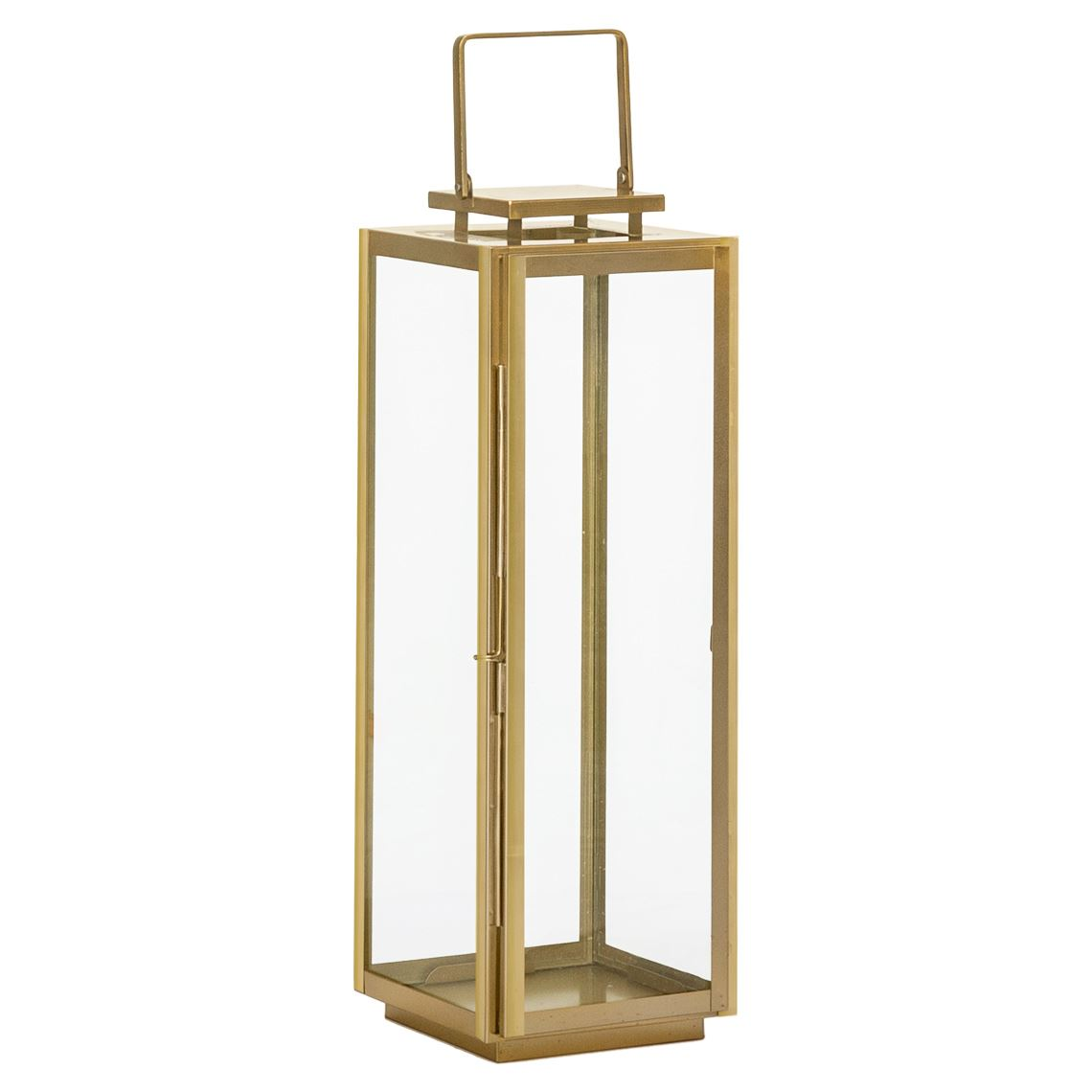 Balzan Lantern, Colour Size W 25cm x D 25cm x H 80cm in Gold Freedom