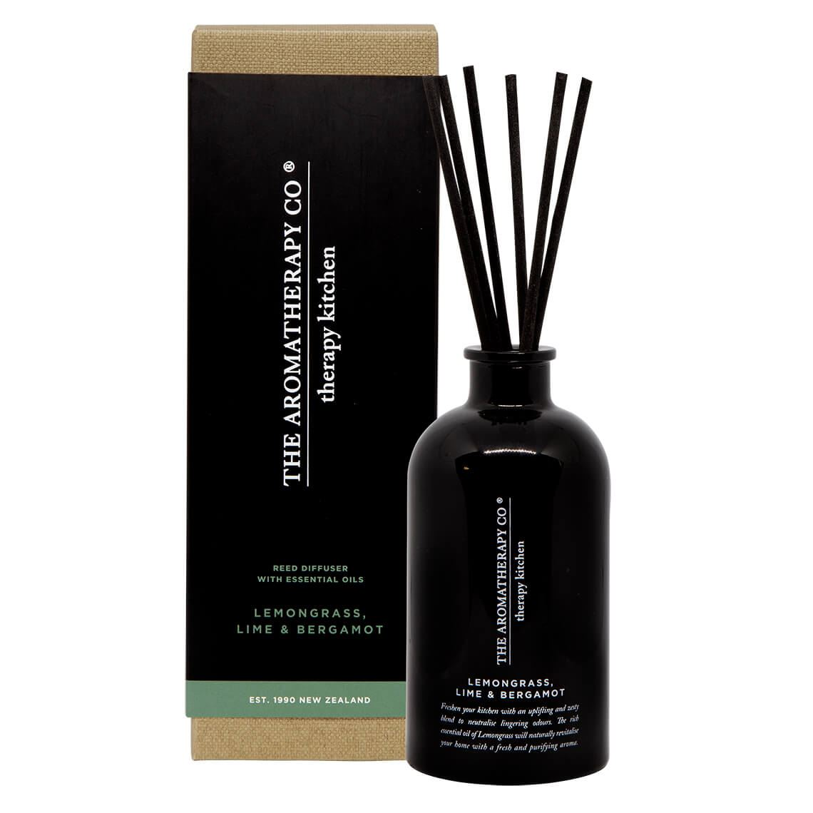 Therapy Kitchen Diffuser Lemongrass Lime And Bergamot Size 250 ml in Lemongrass Lime/Bergamot Freedom