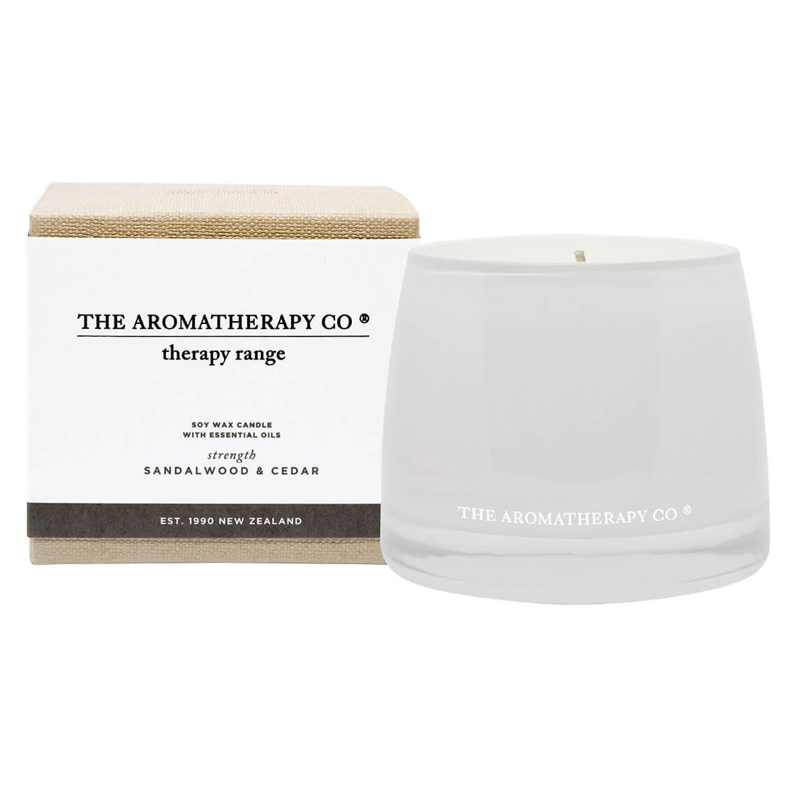 Therapy Candle Sandalwood And Cedar Size W 11cm x D 11cm x H 10cm Freedom