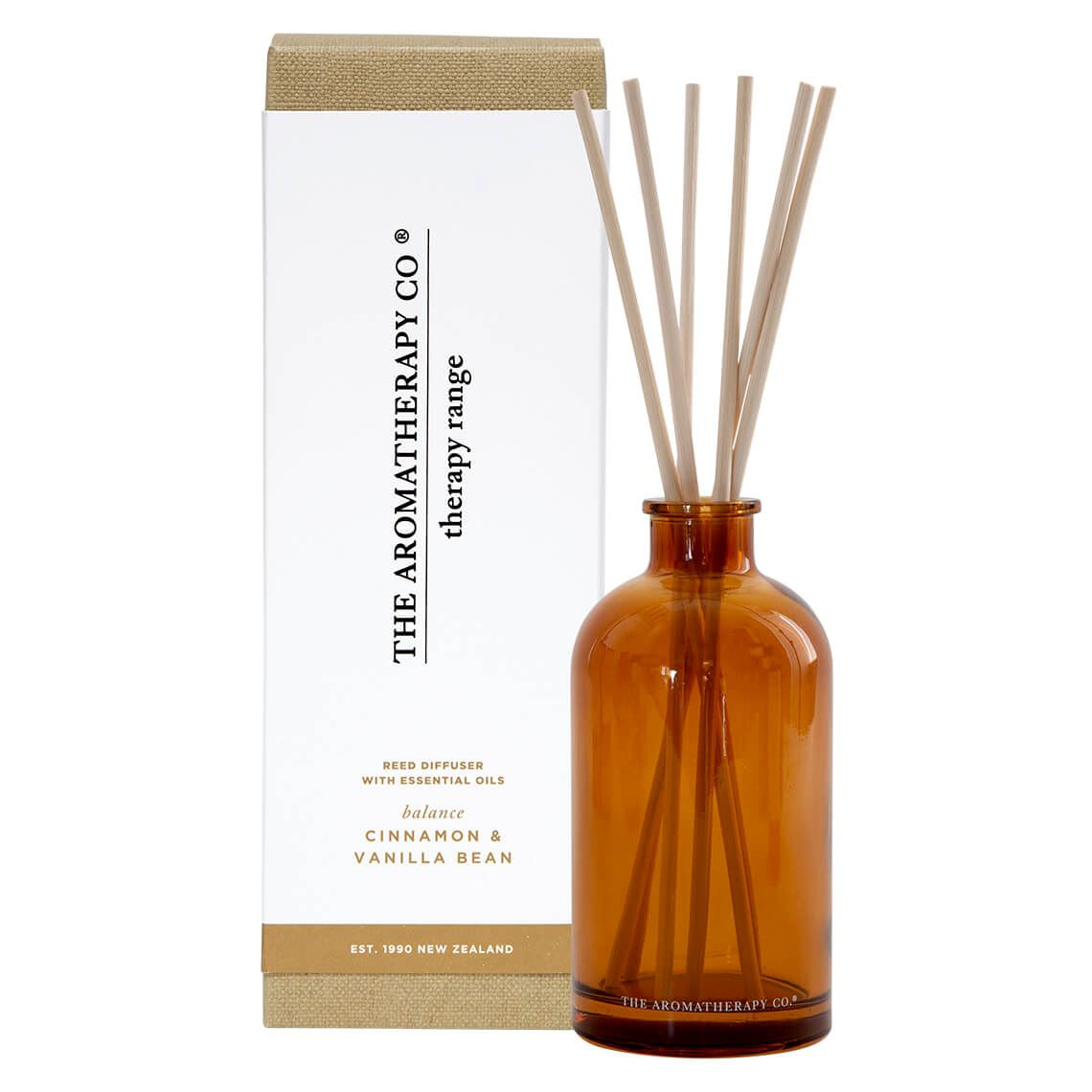 Therapy Diffuser Size 250 ml in Cinnamon Vanilla Bean Freedom