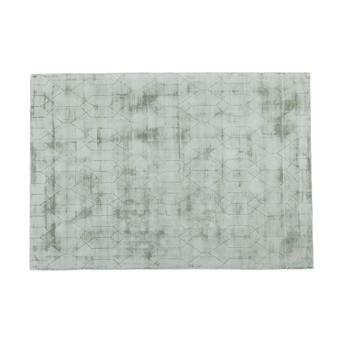 Aiko Floor Rug Size W 160cm x D 230cm x H 1cm in Moss Freedom