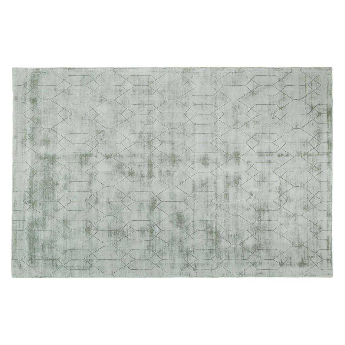 Aiko Floor Rug Size W 200cm x D 300cm x H 1cm in Moss Freedom