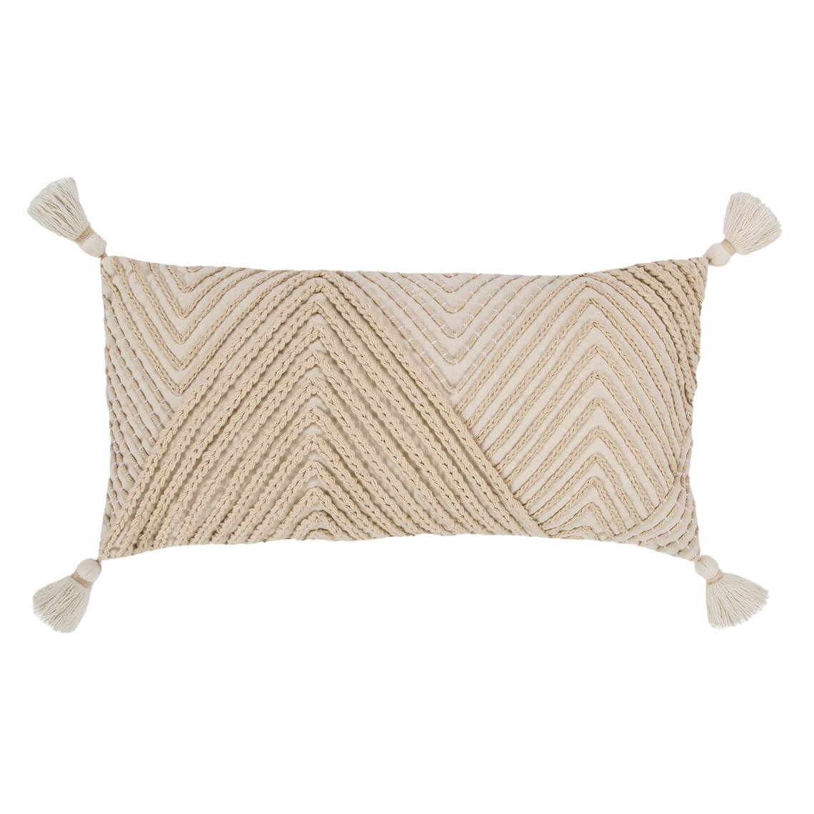 Rekki Cushion Size W 35cm x D 70cm x H 8cm in Natural Freedom