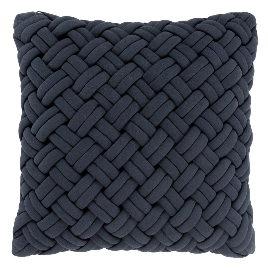 Sharda Cushion Size W 50cm x D 50cm x H 10cm in Grey 64% Cotton 36% Polyester Freedom