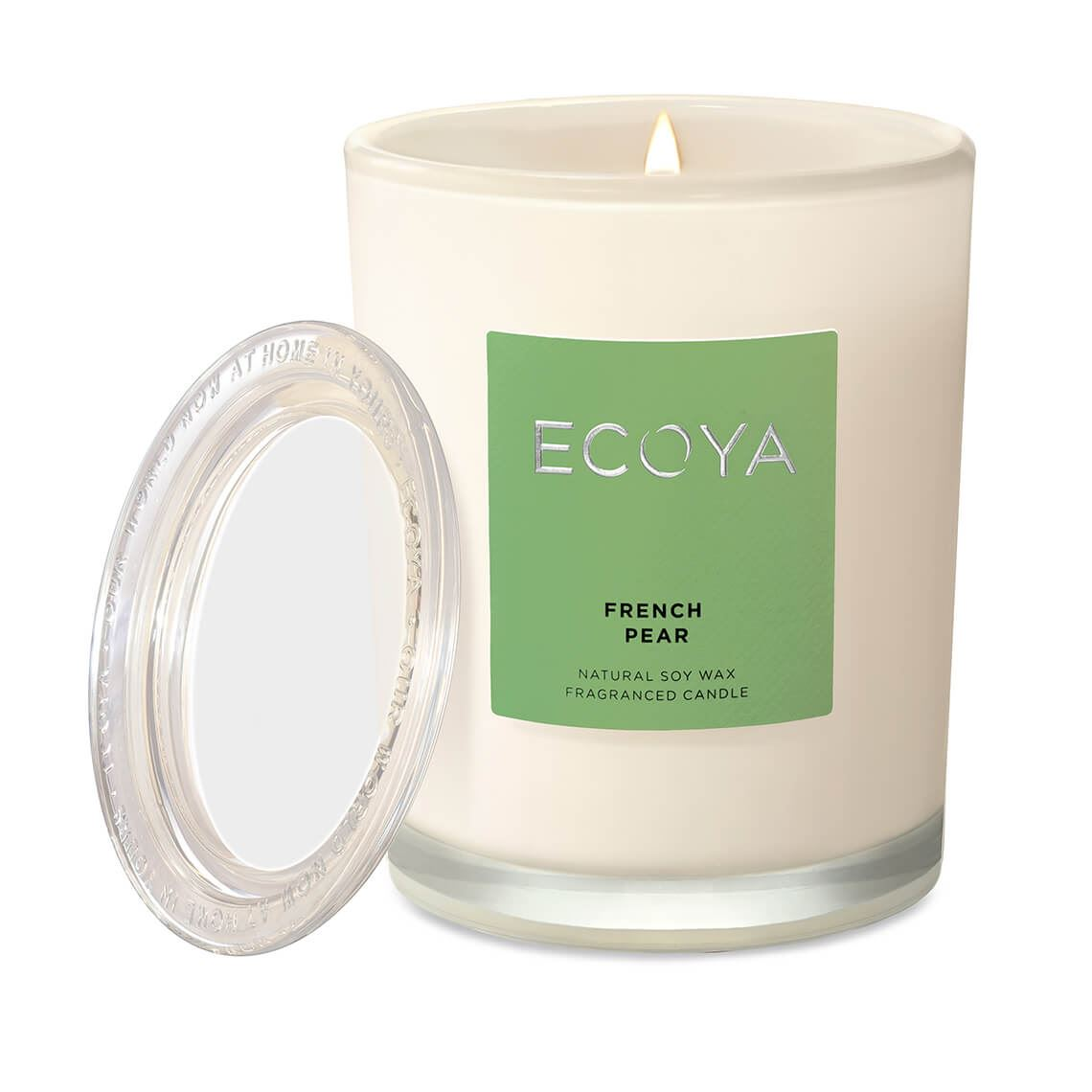 Ecoya Metro Jar Size W 8cm x D 8cm x H 11cm in French Pear Freedom