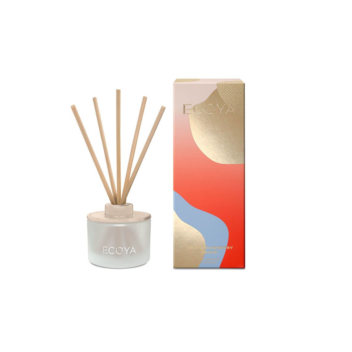 Ecoya Christmas Mini Diffuser L Size W 6cm x D 6cm x H 17cm in Wild Strawberry Frose Freedom