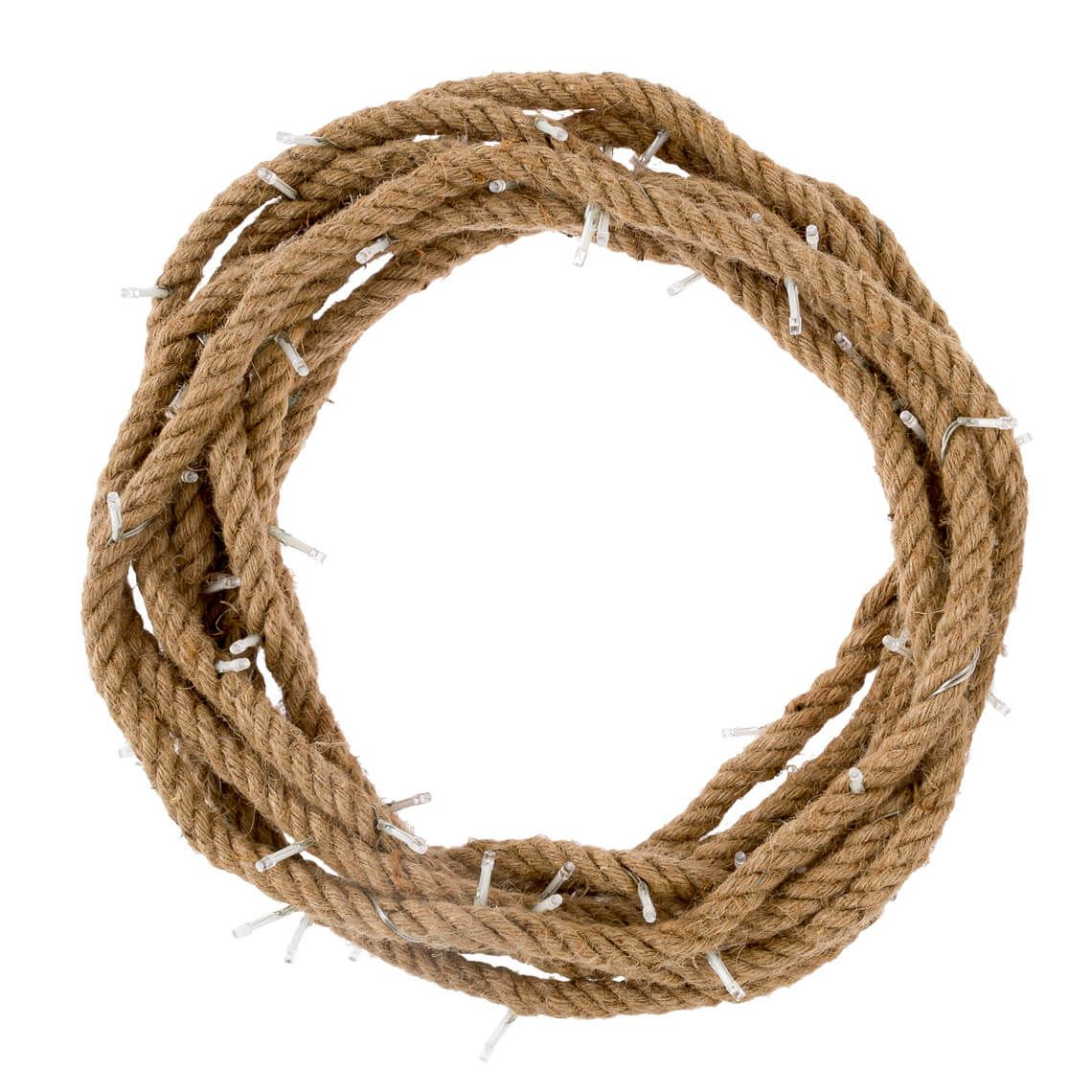 String Lights Size W 1cm x D 1cm x H 1000cm in Natural Rope Freedom