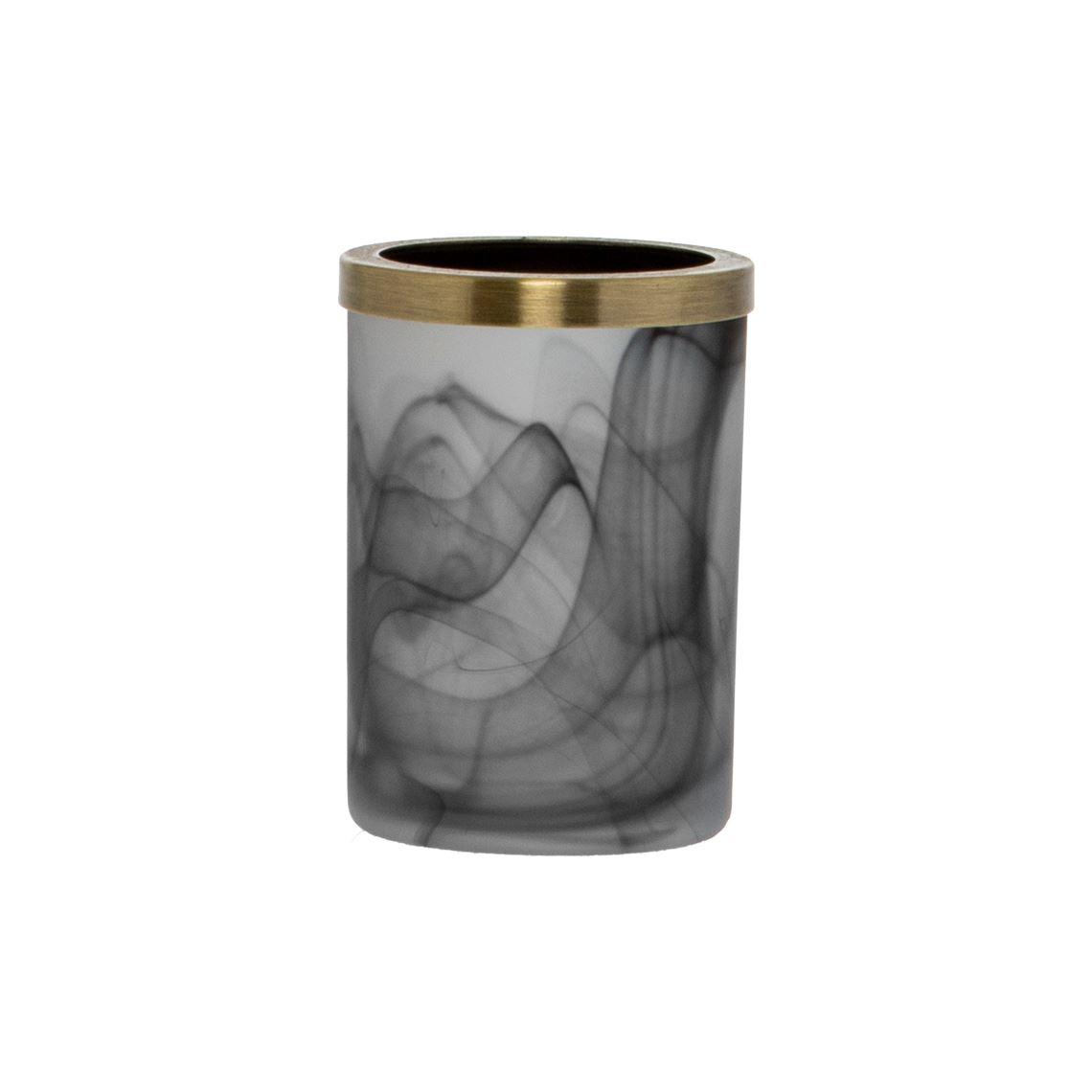 Sebon Tumbler Size W 8cm x D 8cm x H 11cm in Black Freedom