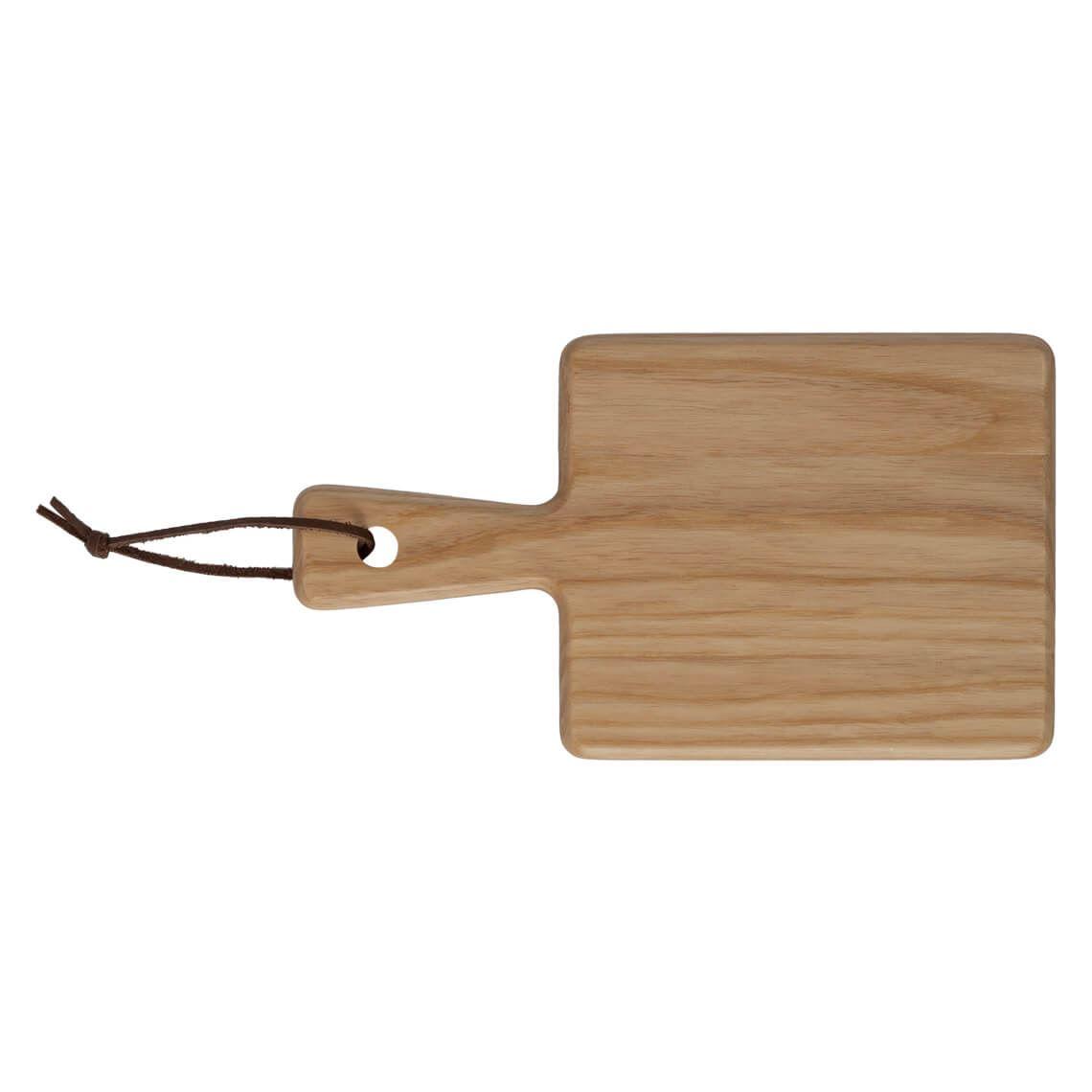 Bolu Serving Board Size W 23cm x D 13cm x H 2cm in Natural Ash Wood Freedom