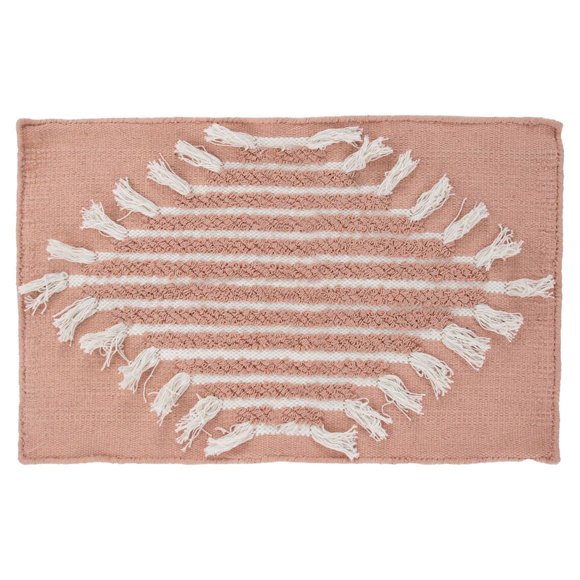 Frendi Bath Mat Size W 50cm x D 80cm x H 1cm in Pink Freedom