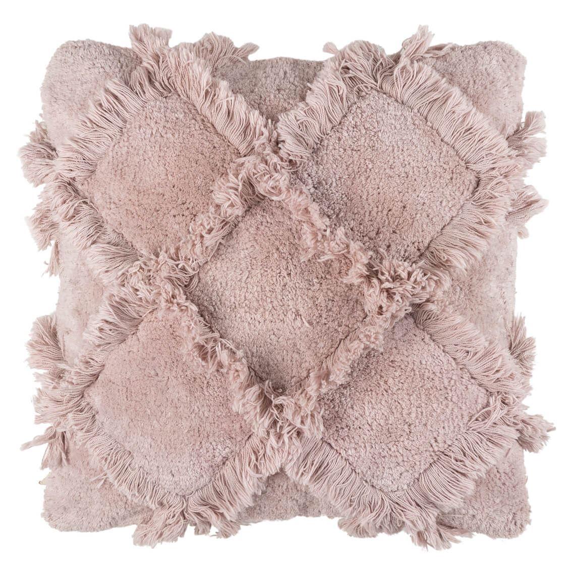 Daou Cushion Size W 50cm x D 50cm x H 12cm in Pink Freedom
