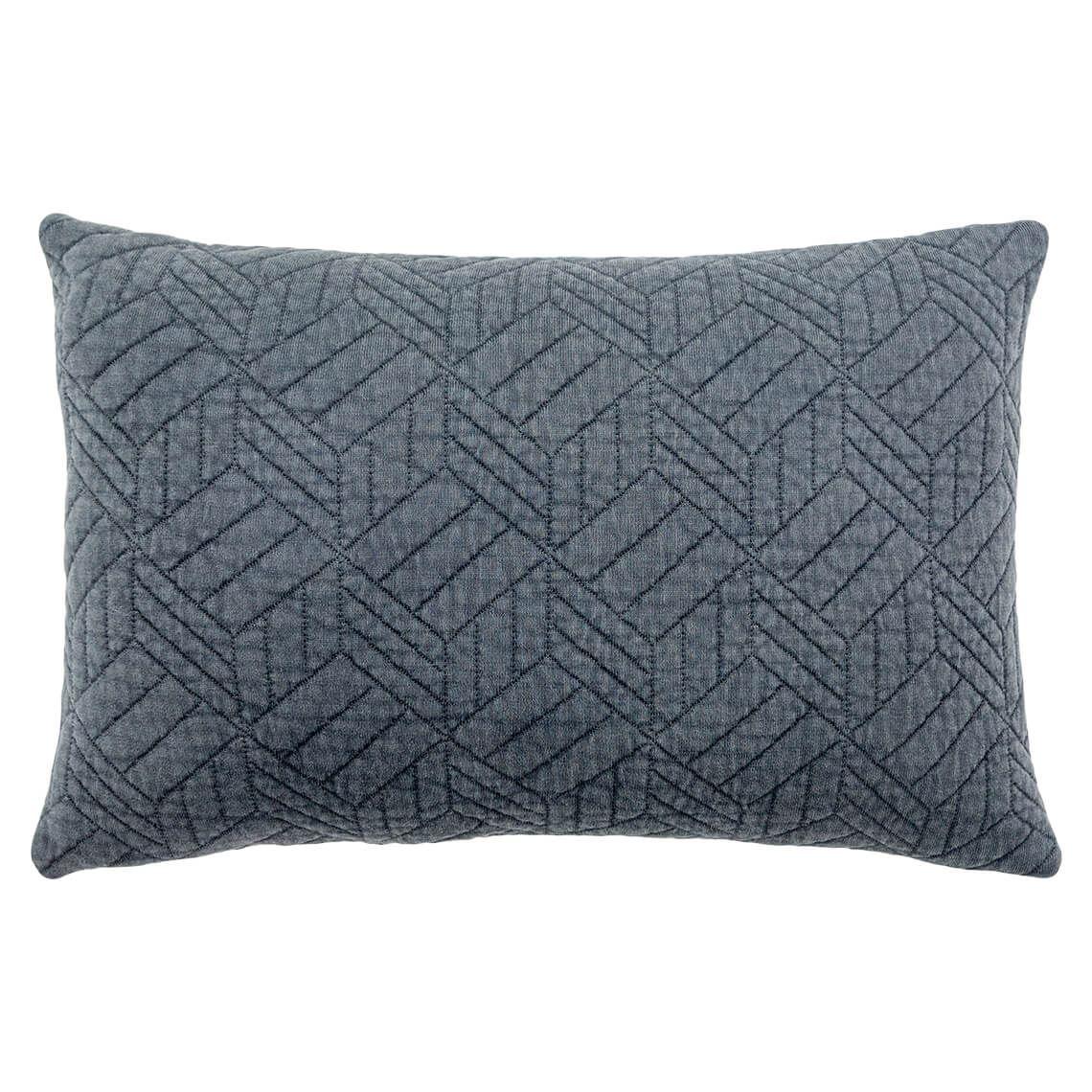 Glendale Cushion Size W 40cm x D 60cm x H 12cm in Grey Freedom