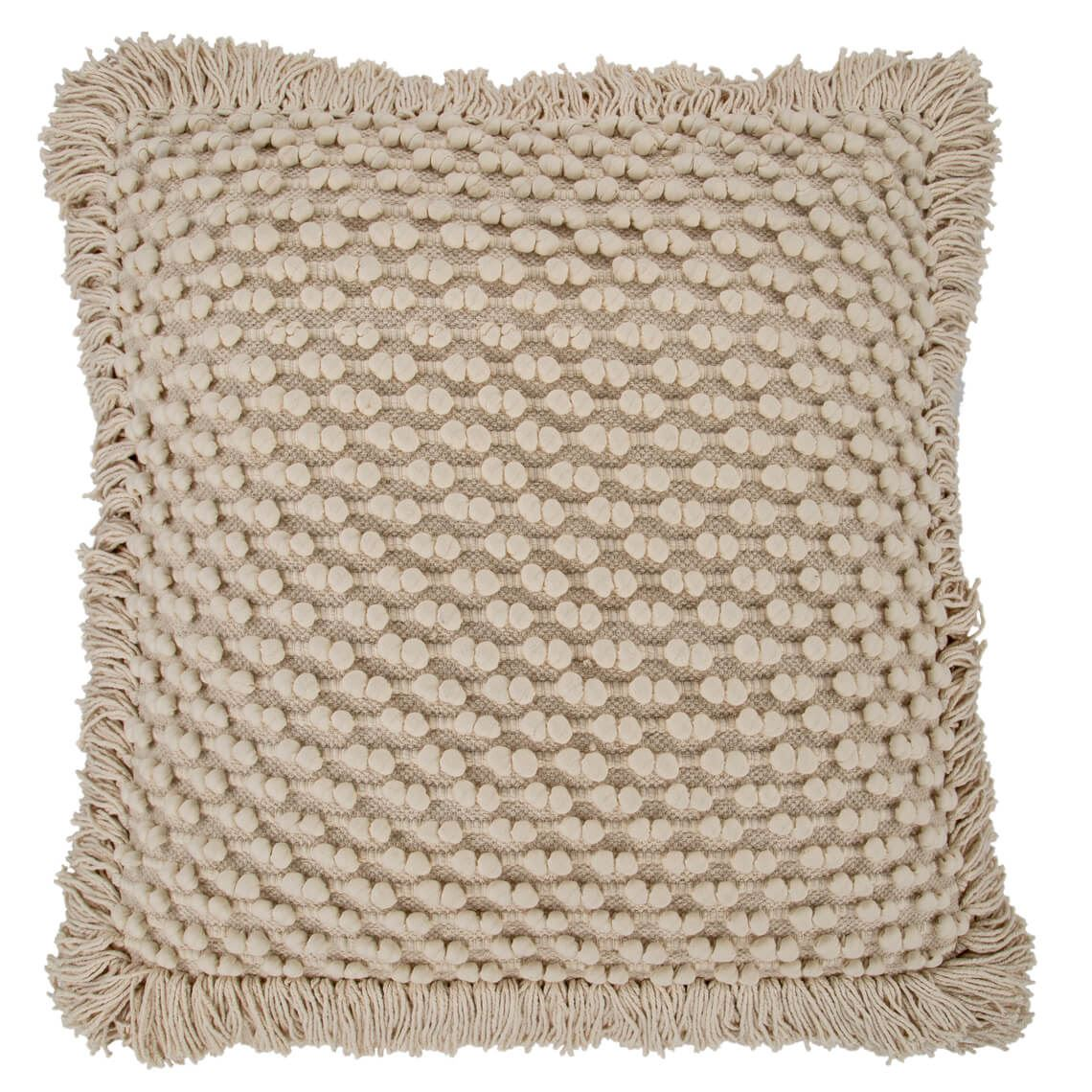 Gabriel Floor Cushion Size W 80cm x D 80cm x H 10cm in Natural Freedom