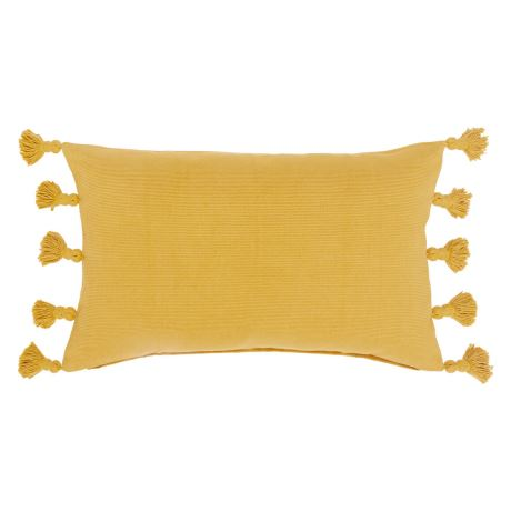 Barnwell Cushion Size W 35cm x D 55cm x H 10cm in Yellow Freedom
