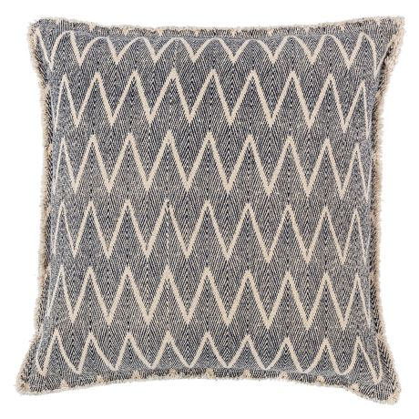 Midori Cushion Size W 50cm x D 50cm x H 10cm in Blue Freedom