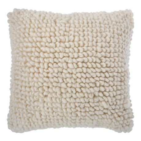 Holden Cushion Size W 55cm x D 55cm x H 8cm in Natural Freedom