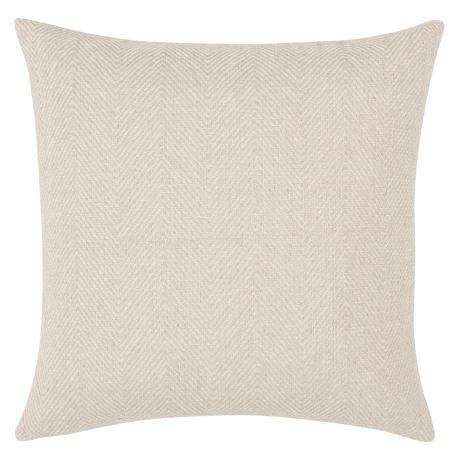 Salem Cushion Size W 47cm x D 47cm x H 15cm in Cream Freedom