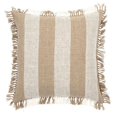 Irmo Cushion Size W 50cm x D 50cm x H 14cm in Natural Freedom