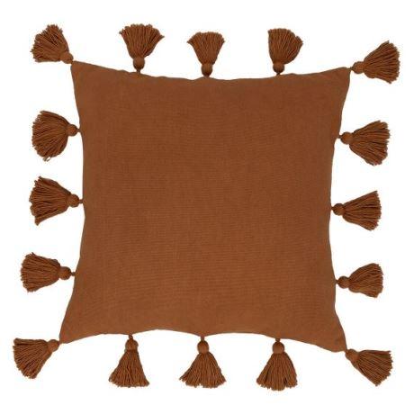 Maybelle Cushion Size W 50cm x D 50cm x H 10cm in Brown Sugar Freedom